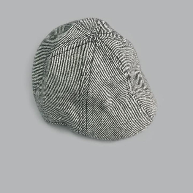 Cooper Tweed Driving Cap - Gray