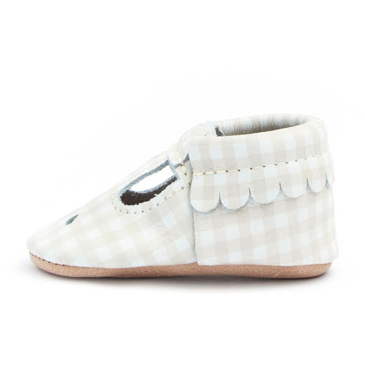 Mary Jane - Almond Gingham