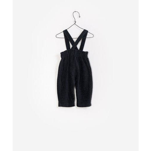 Corduroy Jumpsuit - Dark Charcoal