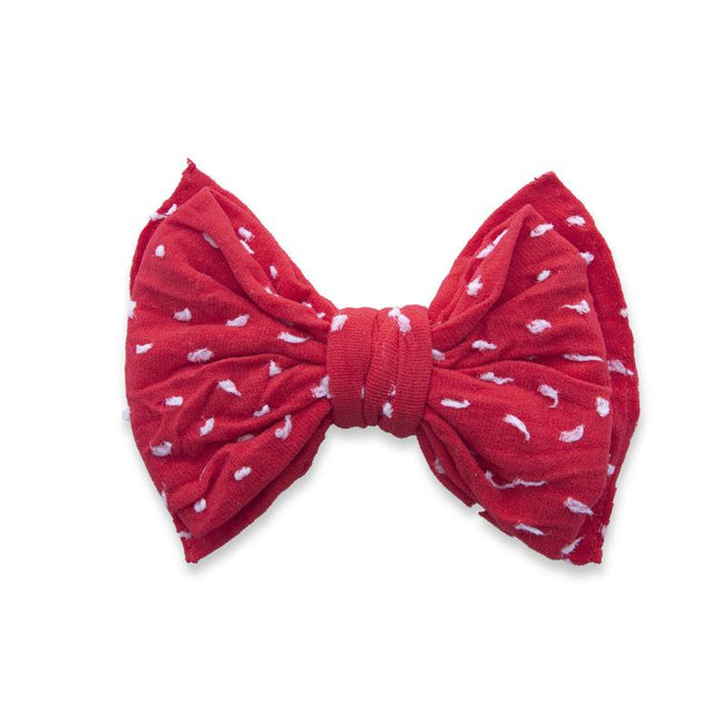 Shabby Dot Clip - Cherry Dot