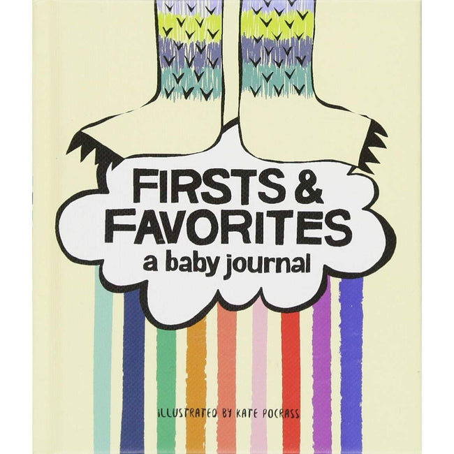 Firsts & Favorites: A Baby Journal