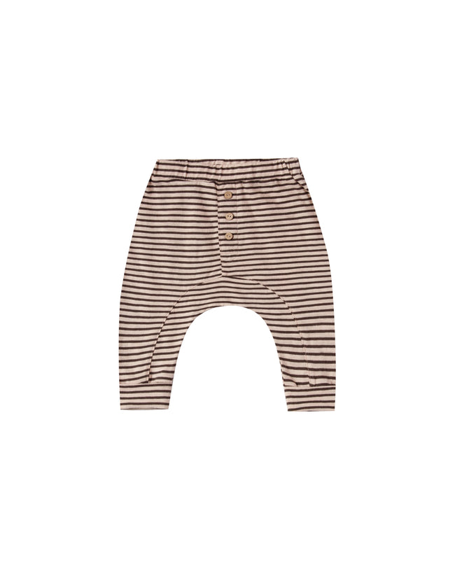 Striped Slub Baby Pant