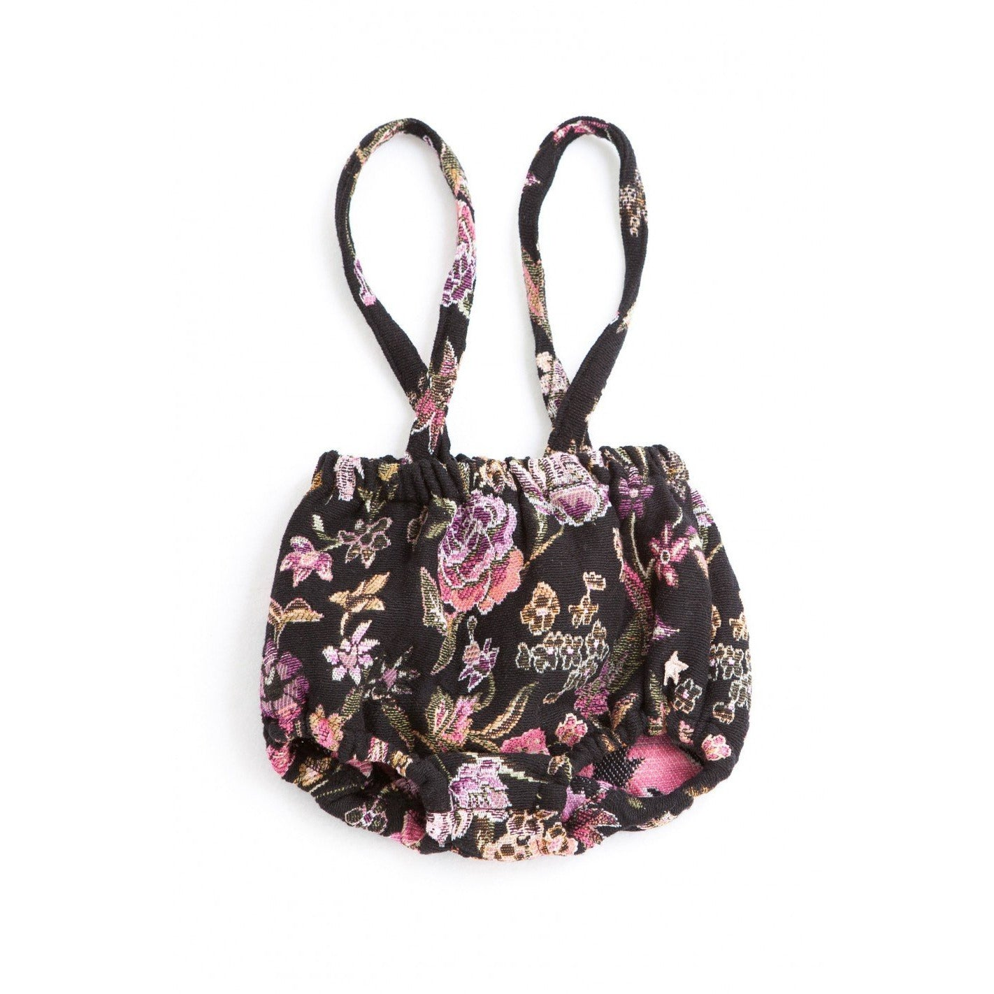 Jacquard Flowers Bloomer Overall