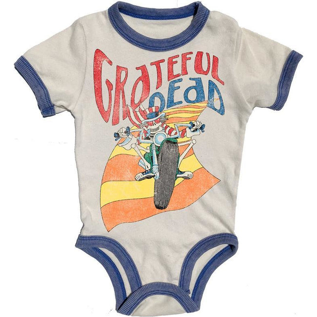 Grateful Dead Ringer Onesie