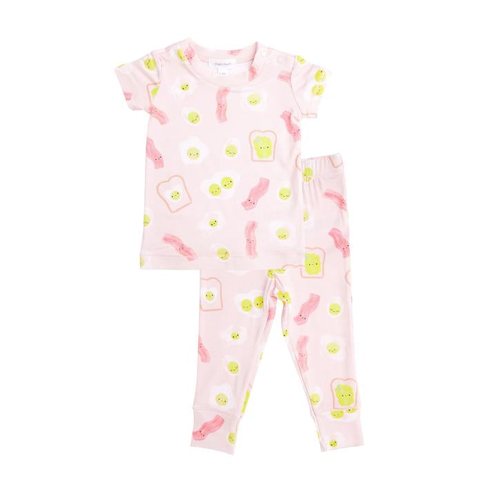 Bacon & Eggs Lounge Wear Set - Pink