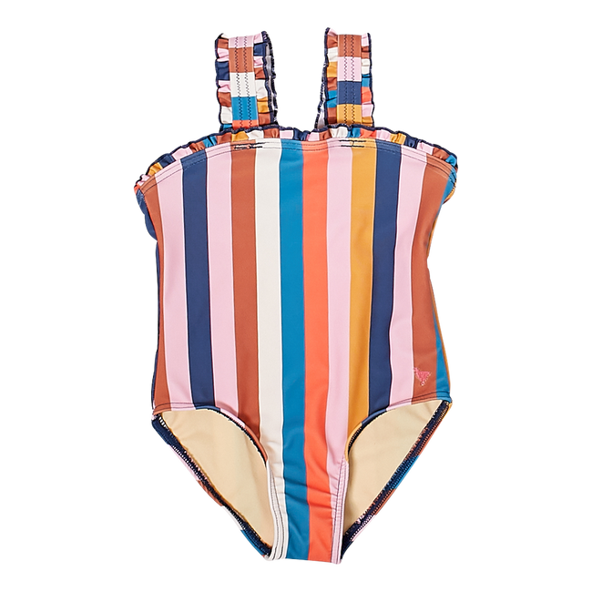 Emma Suit - Multi Stripe