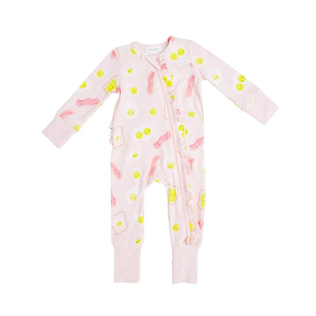 Bacon & Eggs Romper - Pink