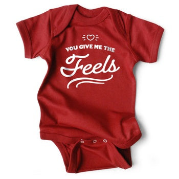 You Give Me the Feels Onesie
