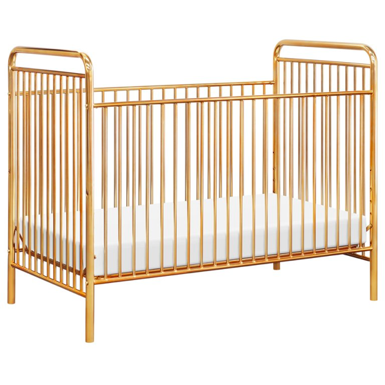 Jubilee 3-in-1 Convertible Metal Crib - Gold