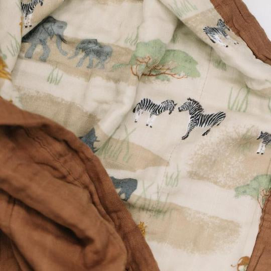 The Savannah 4-Layer Muslin Quilt