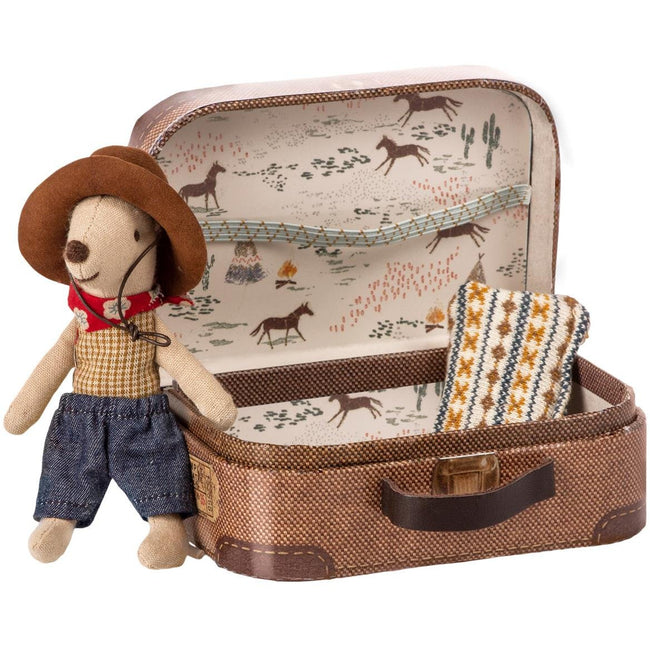 Cowboy in Suitcase - Little Brother Mouse