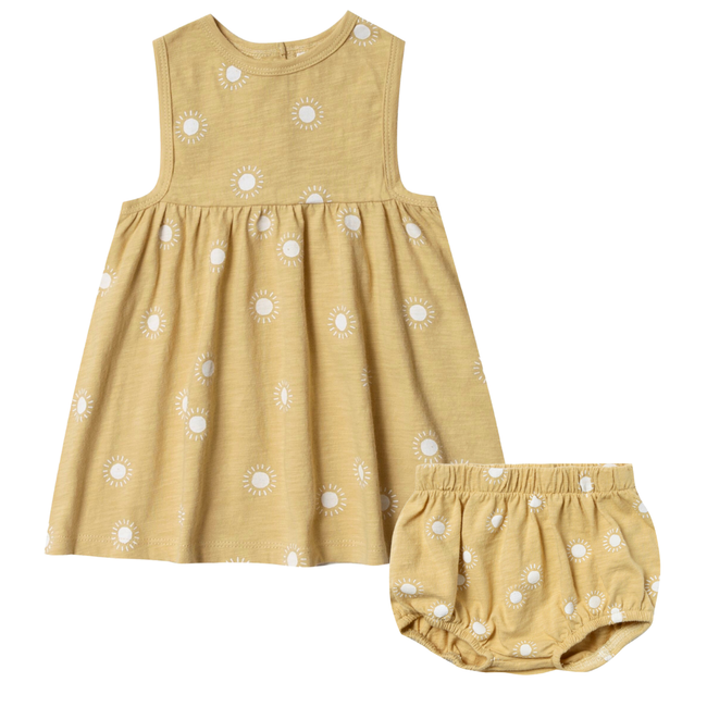 Layla Dress & Bloomer Set - Sunburst