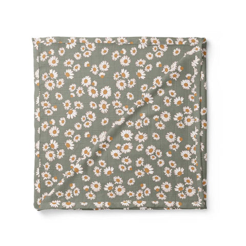 Poppy Blush Organic Cotton Crib Sheet