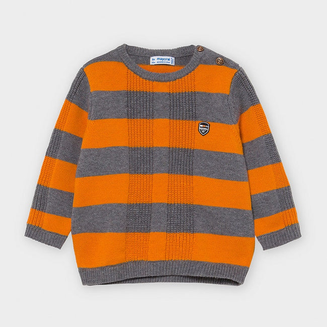 Striped Sweater - Cheddar