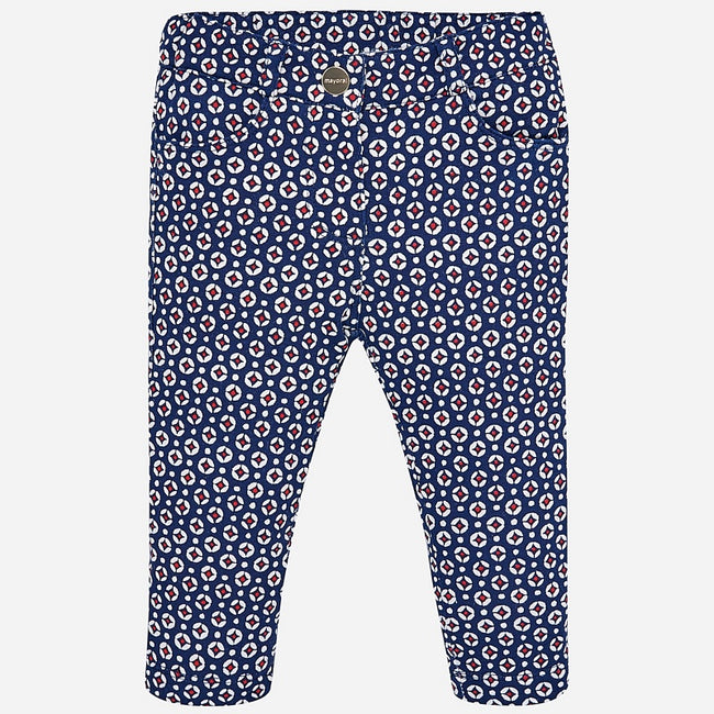 Geo Print Fleece Lined Pant