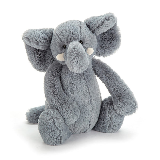 Bashful Elephant Small - Grey