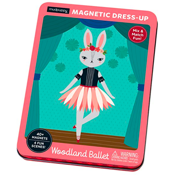 Woodland Animal Ballerina Magnetic Dress-Up