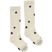 Printed Socks - Black Dot