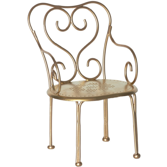 Vintage Chair - Gold
