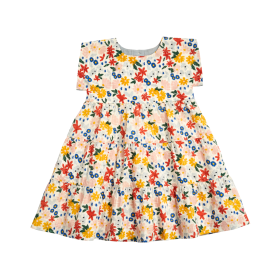 Peachy Dress - Floral