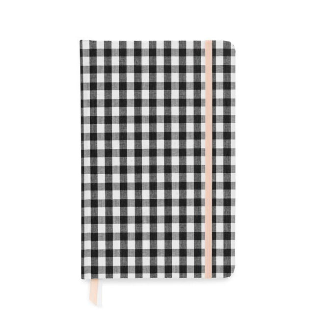 Black & White Gingham Essential Journal