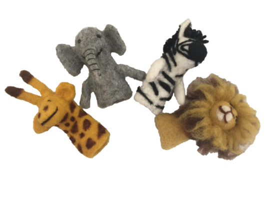 Finger Puppets - African Animals