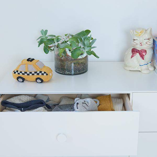 Oeuf 6 Drawer Dresser - Sparrow