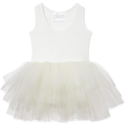 B.A.E Tutu Dress - Pearl Ivory