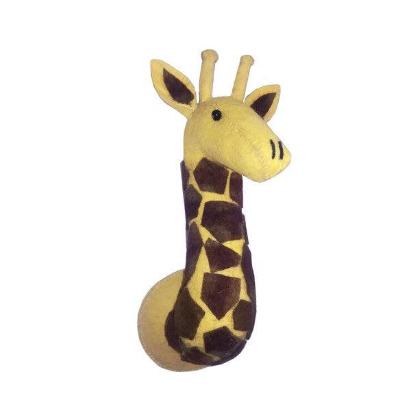 Mini Tonal Giraffe Head