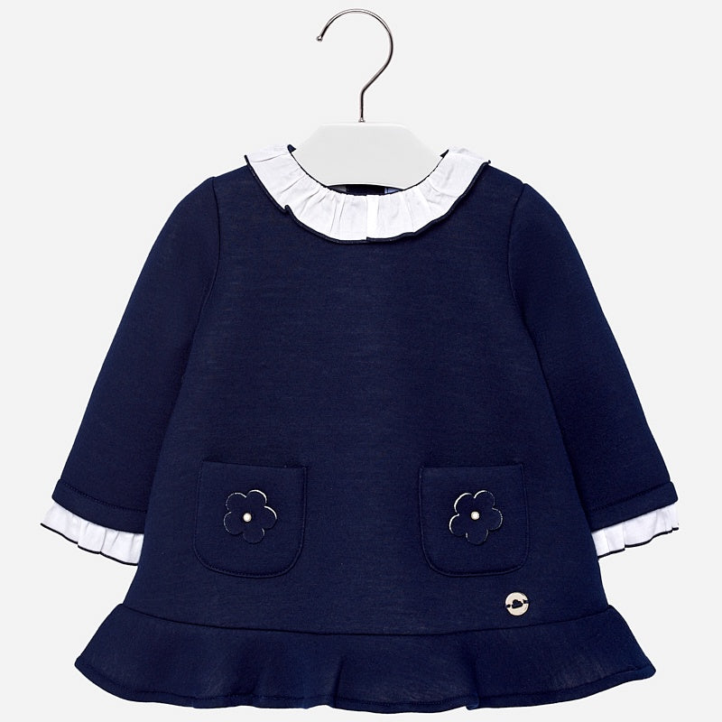 Daisy Pocket Collared Dress