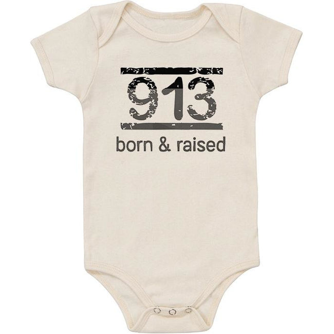 Organic Bodysuit - Born and Raised in 913