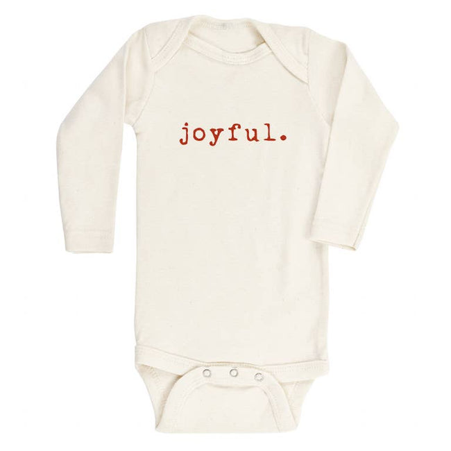 Long Sleeve Onesie - Joyful