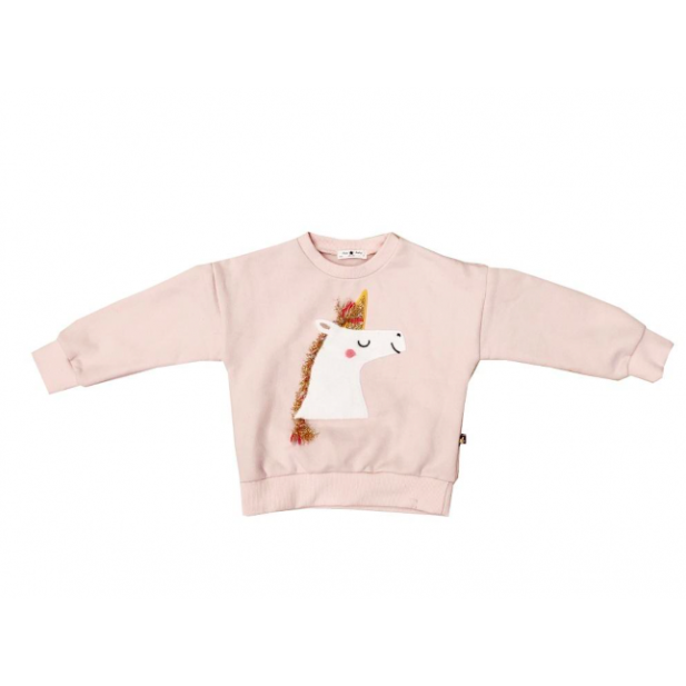 Unicorn Sweatshirt - Pink