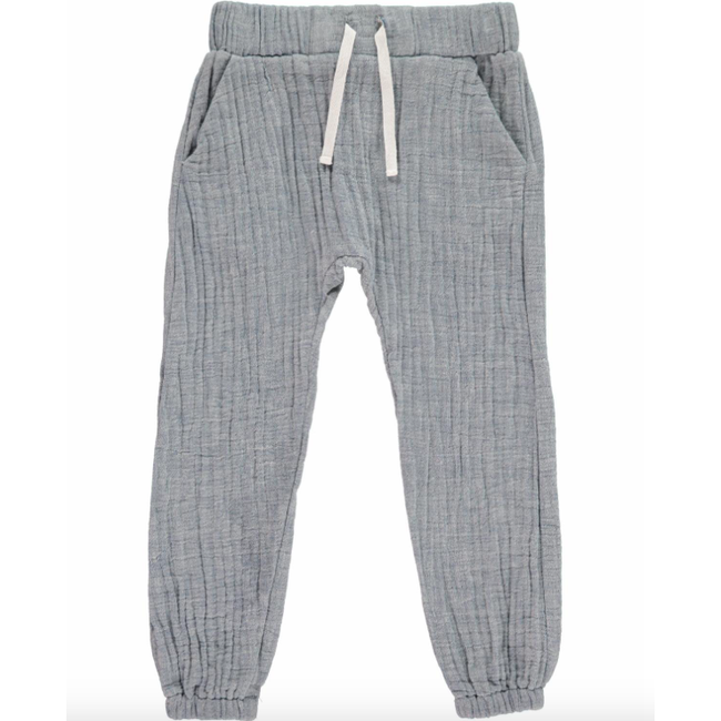 Lightweight Woven Pants - Blue