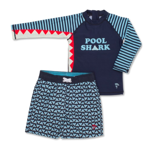Rashguard Swim Set - Pool Shark