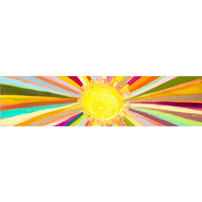 Little Sunshine Canvas Wall Art - 48x12