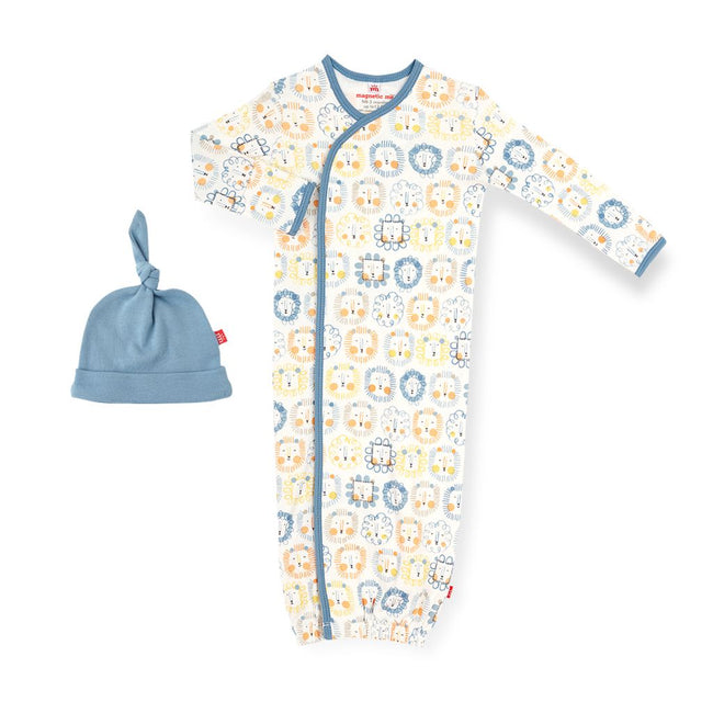 Mane Event Organic Cotton Magnetic Gown Set