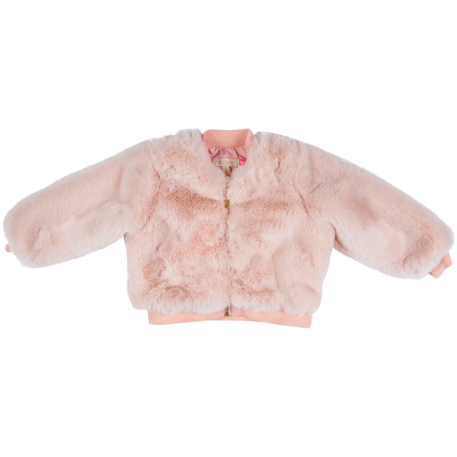 Bomber Jacket - Powder Pink