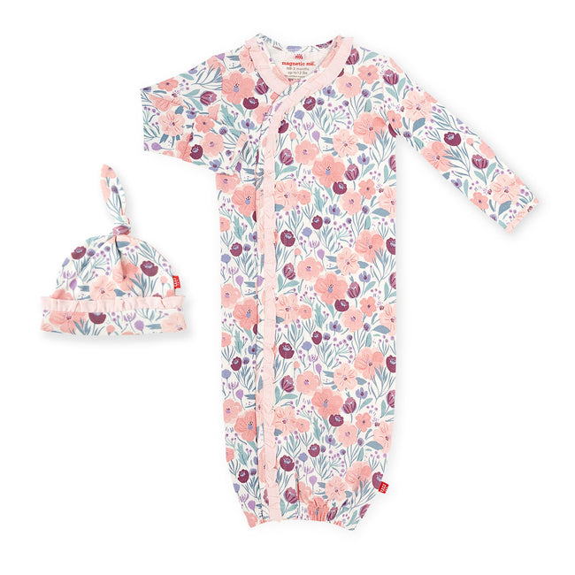Mayfair Organic Cotton Magnetic Gown Set