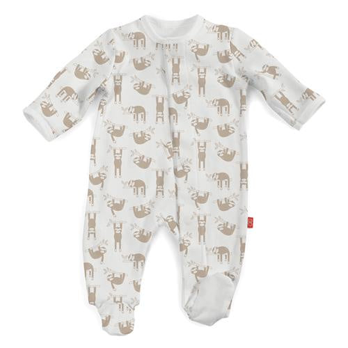 Silly Sloth Organic Magnetic Footie