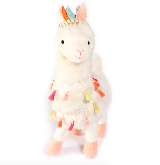 Lakely Tribal Llama Plush Toy