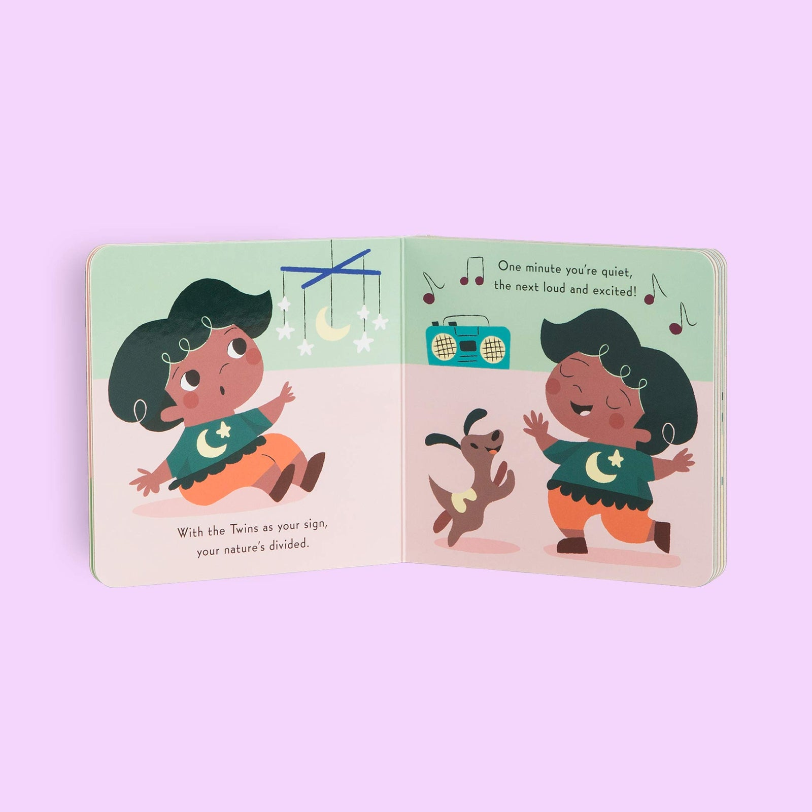 Baby Gemini: Little Zodiac Book