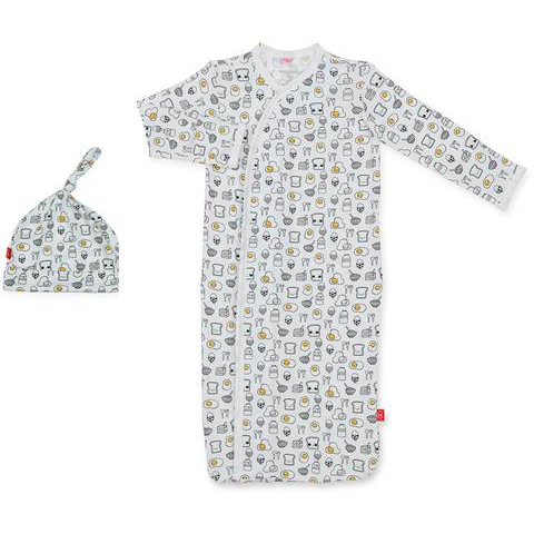Breakfast Club Modal Magnetic Gown Set