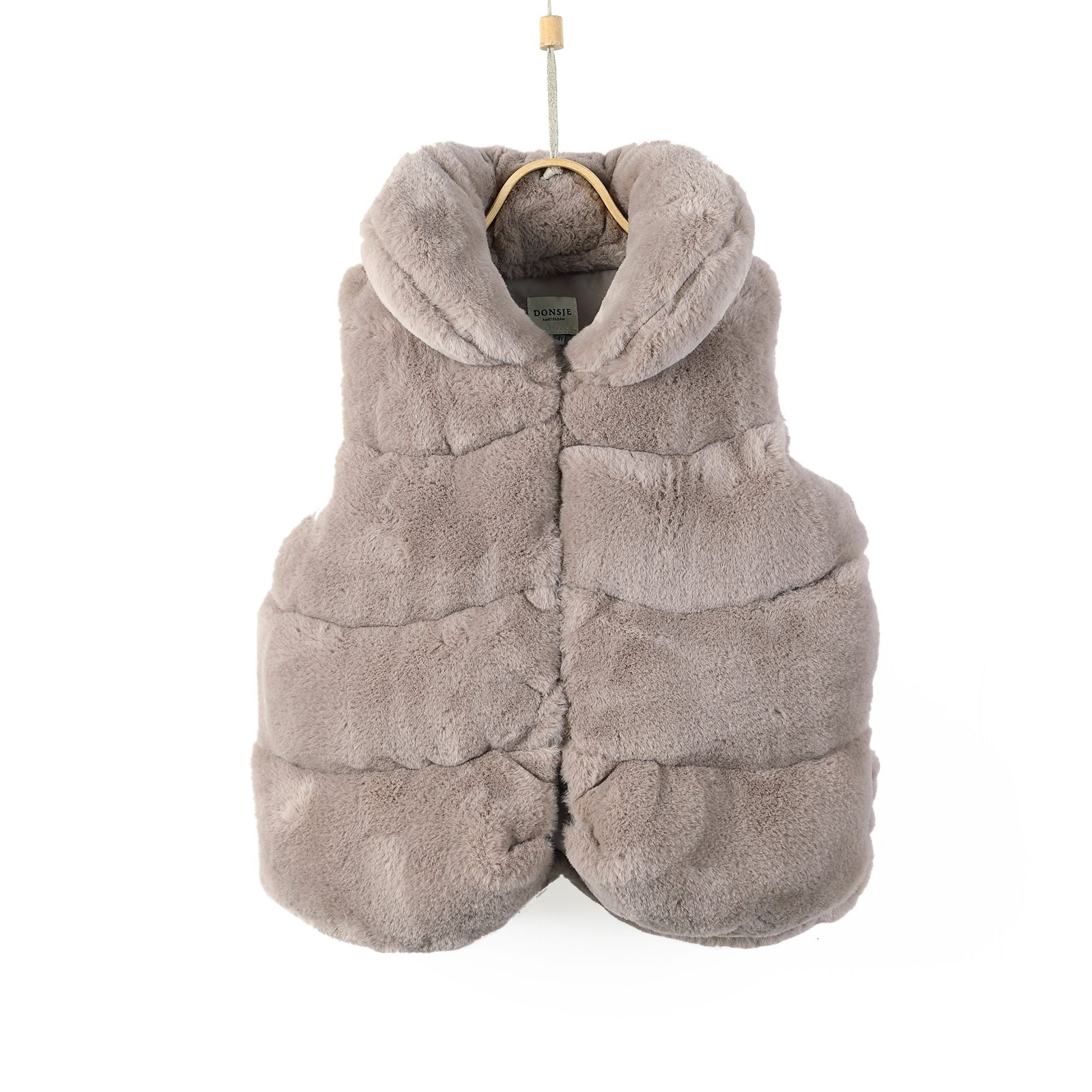 Jane Bodywarmer Vest - Cloudy Teddy