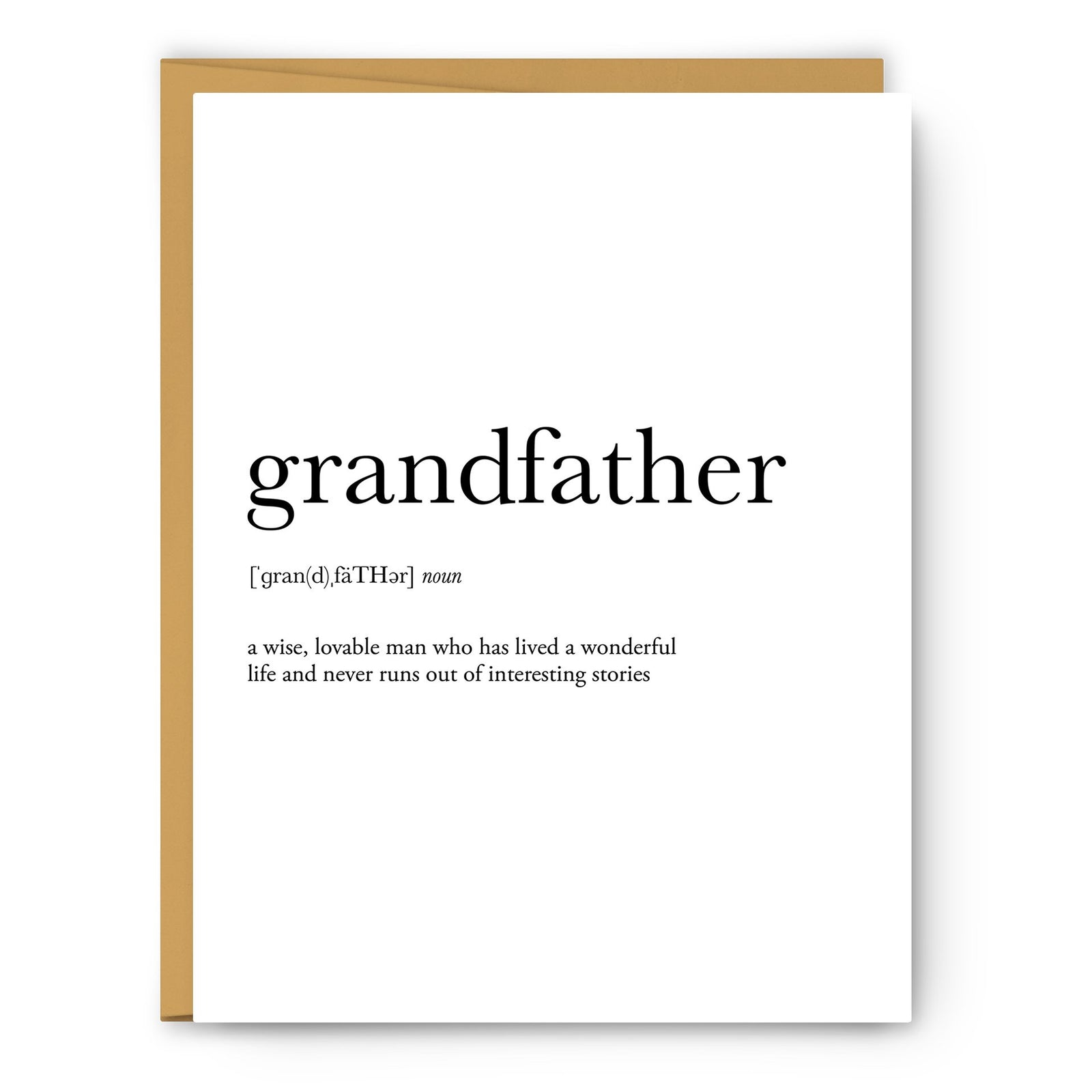 Grandfather Greeting Card