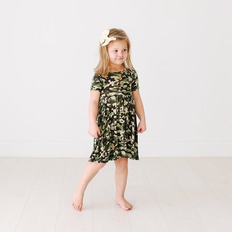 Skylar Footed Sleeper - Quinn Floral Print