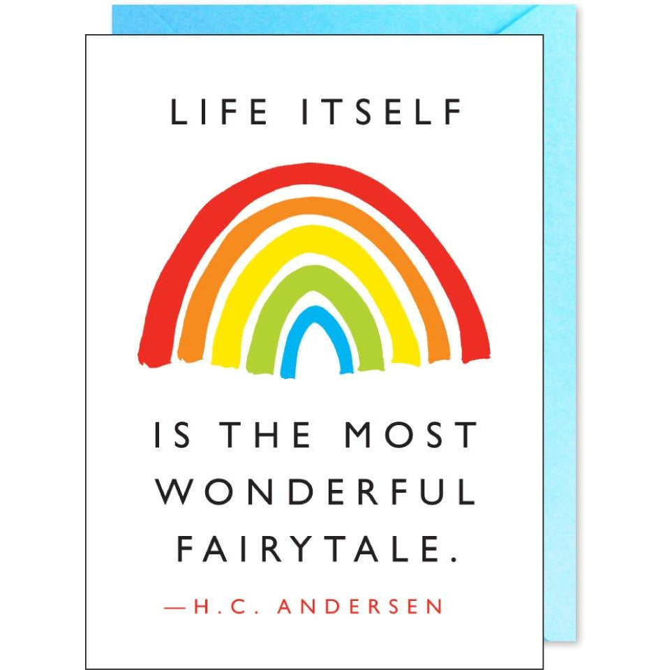 Wonderful Fairytale Quote Card