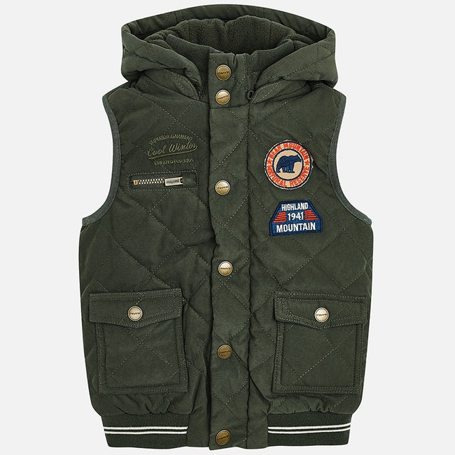Padded Patch Vest