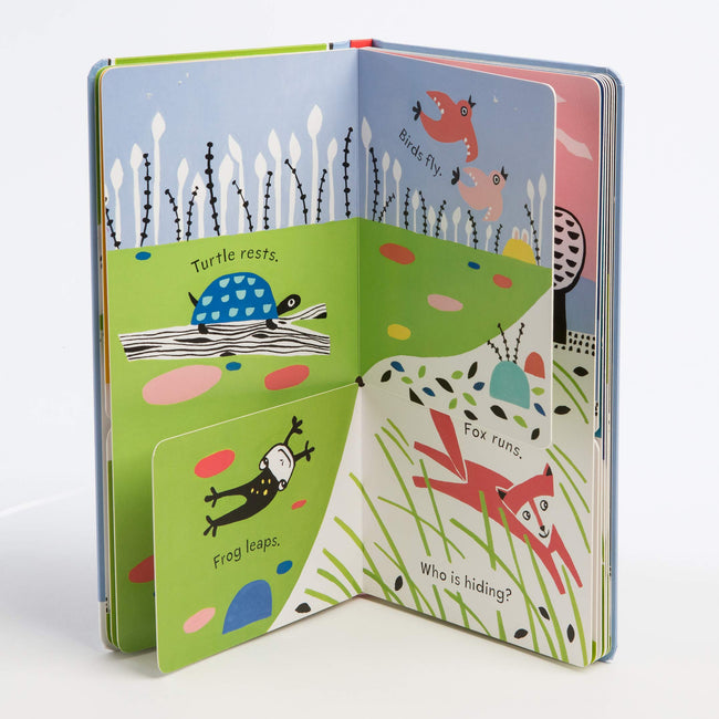 Hide-and-Sleep: Interactive Flip Flap Book