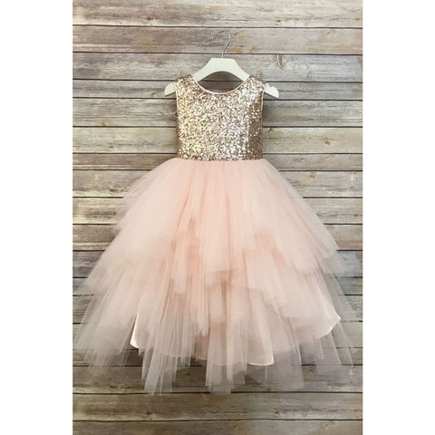 Adele Party Dress - Champagne